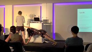Trans_What? Symposium, movement: Yuko Matsuyama, text: Monika Jaeckel
